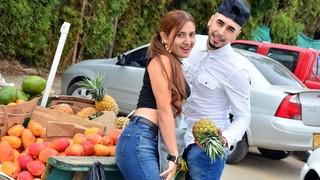 Парень выбирал с девушкой фрукты, после чего поимел её, как хотел